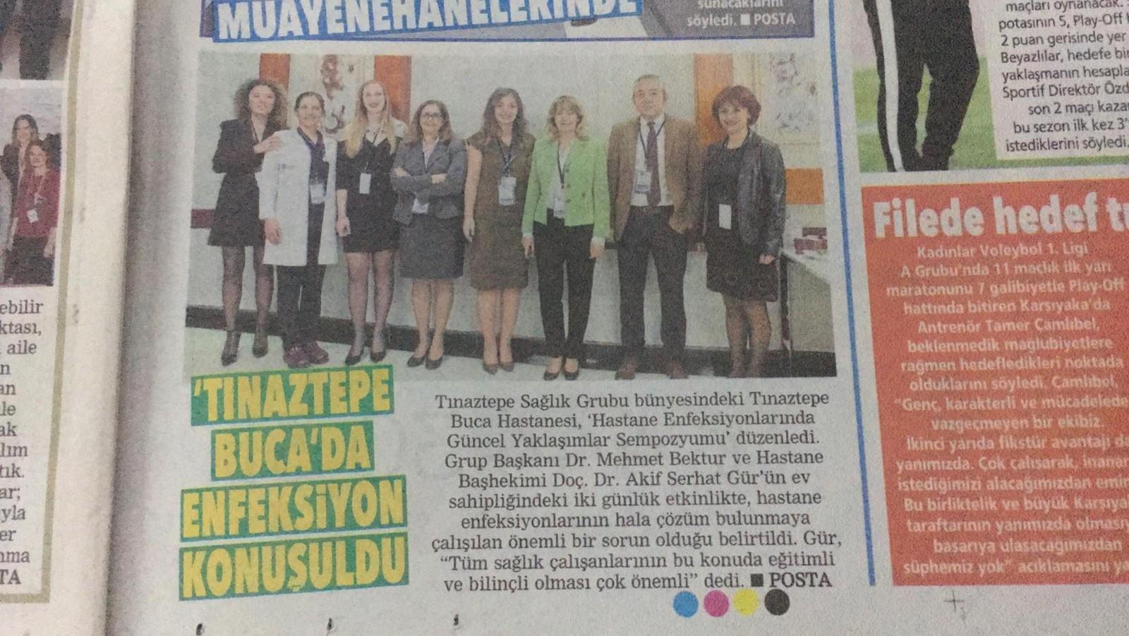 Tınaztepe Buca'da Enfeksiyon Konuşuldu
