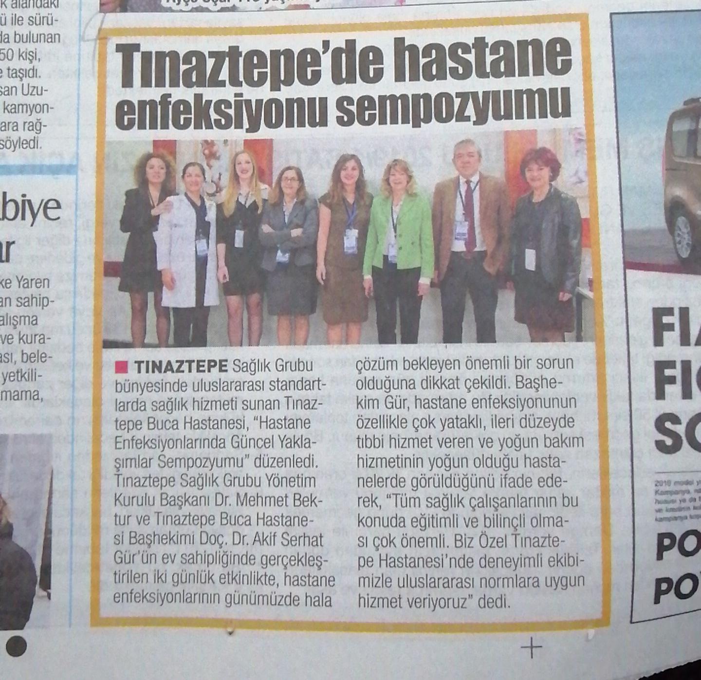 Tınaztepe'de hastane enfeksiyonu sempozyumu